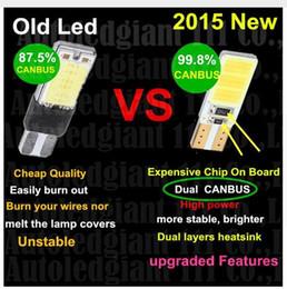 Wholesale Super Led W5w - 100PCS T10 168 T15 W5W COB LED High Power Signal Tail Turn Bulb Light Super White wholesale price