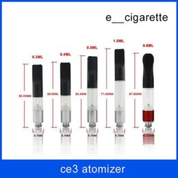 Wholesale Liquid Cartridge - CE3 BUD Touch O-pen Atomizer E Liquid Oil Vaporizer 510 Cartridge 0.5 1.0ml Vapor Tank Vaporizer Cartridge