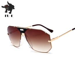 183d7b5a5 China New brand designer sunglasses men metal frame sunglasses large frame  retro toad glasses UV400 RA179