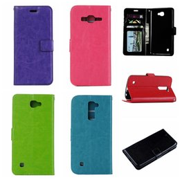 Wholesale X5 Green - For LG X5 G5 K10 Galaxy J510 J310 J5 A9 S6 Edge Fashion Crazy Horse Wallet Leather Pouch Flip Cover Luxury Holder Stand Photo Card TPU Case