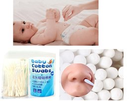 Wholesale Baby Swab - 200PC Ear   Nose   Navel   Cleaning Cotton Swabs For Newborns   Child Baby Care