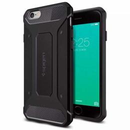 Cas de téléphone portable SGP Neo Robuste Armure Cas Simple-couches Souple TPU Textures De Fiber De Carbone Protecotr pour iPhone 6 6s 6 plus 7 7p Samsung S6 Edg7 ? partir de fabricateur