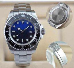 Wholesale Deep Bezel - 2017 AAA Luxury watch Men SEA-DWELLER DEEP Ceramic Bezel 44mm Stanless Steel Clasp 116660 Automatic movement sapphire fashion mens Watches