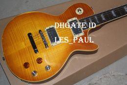 Wholesale Age Shop - Custom Shop Collectors Choice #2 Gary Moore Aged 1959 Rare Electric Guitar Unburst Butterscotch OEM China Guitar Factory Outlets