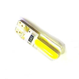 Wholesale W5w Cree Led - Newest T10 W5W LED car interior light cob cree marker lamp 12V 194 501 SMD bulb wedge parking light canbus auto lada car styling