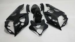 Wholesale Gsx R Matte Black - Motorcycle Fairing kit for SUZUKI GSXR1000 05 06 GSX-R Injection mold GSXR 1000 K5 2005 2006 Matte&gloss black Fairings set SD35