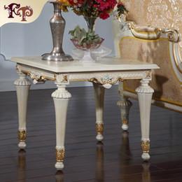 Meubles de salon de style européen -Frenchclassic table basse -Table carrée italienne ? partir de fabricateur