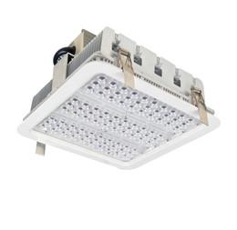 Светодиодные экраны онлайн-Взрывозащищенные навесные фонари с оребрением радиатор 100 Вт 150 Вт 180 Вт светодиодный высокий светильник для залива ГАЗ фонари склад лампы 5 лет гарантии