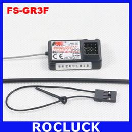 Wholesale Flysky Gt2 - Original Flysky FS-GR3F 2.4GHz 3CH Receiver FS GR3F for FS-GT2 FS-GT3B FS-GT3C Transmitter