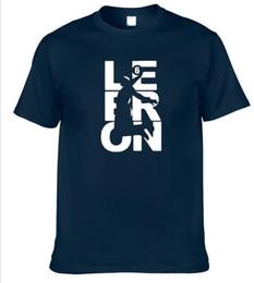 Wholesale Lebron T Shirts - 2017 NEW Summer style New men's Fashion Lebron Fan Wear Short sleeve t shirt men Tops T shirt