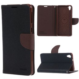 Wholesale Diary Book Case - Mobile Phone Accessories Parts Mobile Phone Bags Cases Mercury Fancy Diary Magnetic wallet book Leather Stand Cover case for flip HTC Desire