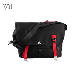 Wholesale Cross Fix - Wholesale- 2016 Men's Fixed Fashion Gear Corssbody Bags Large Capacity Cylinder Postman Shoulder Bag Travel Men's Messenger Bags Waterproof