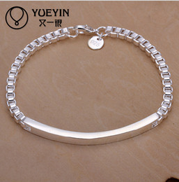 Wholesale Korean Wholesale Free Shipping - High quality New Wholesale Hot 925 silver Korean fashion accessories middle shoe Aberdeen Bracelet H079 free shipping