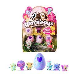 Wholesale Monkeys Toys Brands - Brand New Magic Hatchimals Colleggitble 4 egg+1 bonus set Pop Figures Kids Novelty Toys Chritmas Gifts Items