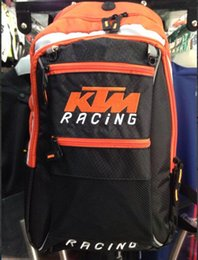 Wholesale Bicycle Cover Waterproof Bag - KTM Motocross Backpack Hydration Pack waterproof bicycle racing Knight bag motorcycle backpack backpack & water bag & rain cover
