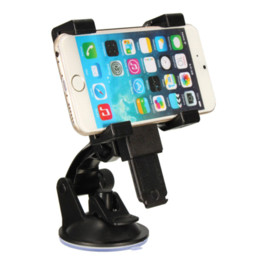 Wholesale Ipad Mini Cradle - Adjustable Car Windshield Suction Mount Cell Phone Holder Stand Cradle For iphone 6 6Plus For ipad Mini 2 Tablet GPS