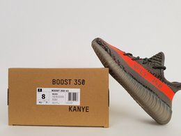 "Wholesale Glow Turtles - Boost 350 V2 Stealth Grey 350 Boost Black Peach SPLY-350 ""Turtle Dove"" Glow in Dark BB1829 For Men Sports Running Shoes DHL shipping"