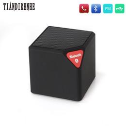 2019 cais para exterior Atacado-Tiandirenhe ireless Bluetooth Speaker Mini X3 alto-falantes Subwoofer esporte portátil ao ar livre com microfone LED suporte TF USB Radio FM cais para exterior barato