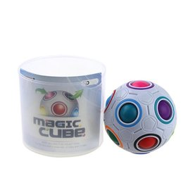 Wholesale Play Press - Magic rainbow ball presses magic holes in the ball children adults can play 2017 new with free shipping