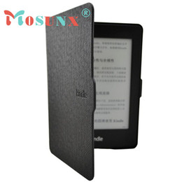 Wholesale Magnetic Films - Wholesale-2016 New Smart Ultra Slim Magnetic Case Cover For Kindle Paperwhite with Screen film DEC19