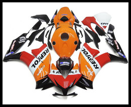 Wholesale Honda Repsol Motorcycle - 3 gifts New TOP Injection Mold ABS Motorcycle Fairings Kits set For Honda CBR1000RR 2012 2013 2014 2015 CBR1000 bodywork 12 13 14 15 Repsol