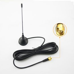 Wholesale Tv Antenna Connectors - LEEWA Car SMA Connector Active Antenna Aerial With Built-in Amplifier For Digital TV #925
