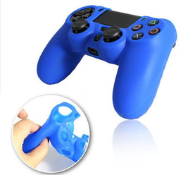 Wholesale Playstation Controller Grip - Many colors Soft Silicone Gel Rubber Case Skin Grip Cover For SONY Playstation 4 PS4 CMicrosoft Xbox One Wireless Controller