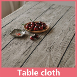 Wholesale Wholesale Wedding Tablecloth - Shipping Free Flax Table Cloth Tablecloth Fiberflax Table Cover Round For Banquet Wedding Party Decoration Home Textile 16110210
