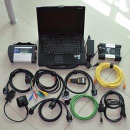 MB Estrela C4 Para BMW ICOM PRÓXIMO A + B + C NOVA GERAÇÃO DE ICOM A2 2IN1 Diantostic-Ferramenta com 1 tb HDD dentro de Laptop CF-52 Pronto para Uso de Fornecedores de cf hdd