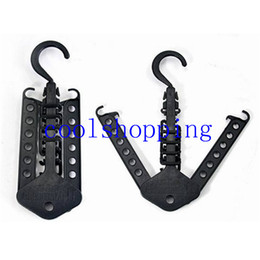 Wholesale Magic Trousers Clips - Space Saver Clothes Hanger Folding Magic Hangers for Clothes Indoor Closet Hanger