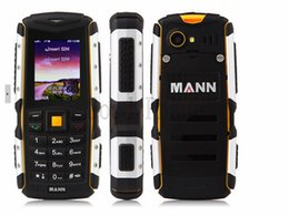 Wholesale Mann Rugged Phone - High quality Original MANN ZUG S IP67 Waterproof Shockproof mobile Phone Dustproof Rugged Outdoor Cell Phone Dual sim card Bluetooth Phones