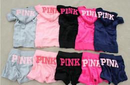Wholesale Short Sleeve Summer Cardigans - Summer brand Velvet Short Tracksuit women brand ,Leisure Suit ,Pink sport Tracksuit,homies,Hoodies & Pants SIZE S--XL Pinktmy10200