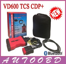 Wholesale Diagnostic Partner - New VD600 TCS CDP with Bluetooth with nylon box car diagnostic partner car code scanner with keygen 2014.02 software CDP free shipping