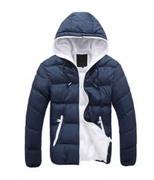 Wholesale Korean Long Coat Male - 2016 new winter men's hooded cotton male New thick warm male Korean handsome man coat coat Cotton Mens gentleman
