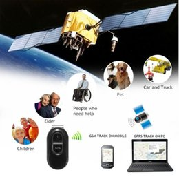 Wholesale Real Time Gps Systems - Real-Time Mini Spy GSM GPRS GPS Tracker Car Vehicle Tracking Device System NEW Free DHL shipping