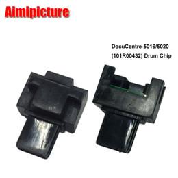 Wholesale Drum For Toner Cartridge - 10PCS 101R00432 Imaging unit chip For Fuji Xerox WorkCentre 5016 5020 wc5016 wc5020 drum toner cartridge counter reset chips