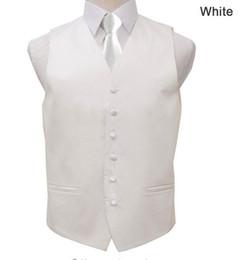 Wholesale Custom Waistcoats - 2016 Handsome Mens Vests Wedding Groom Formal Waistcoats Groomsmen Bridegroom Suit Vest Business Party Prom Waistcoat with Tie