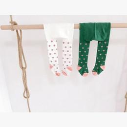 Wholesale Leggings Korean Flower - Korean Flower Girl Tights 2016 New girls winter leggings Printed children cotton leggings baby girl tights 7207