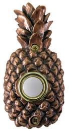 Wholesale Push Button Plates - Bronze Plated Pineapple Push button switch, Doorbell push button switch