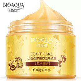 Wholesale Hand Peeling - BIOAQUA Spa Massage Scrub Feet Cream Moisturizing Peeling Whitening Socks Smooth Beauty Hand Foot Care for Pedicure Exfoliating