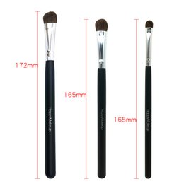 Wholesale Pro Tools Mixing - Happy Makeup 3pcs Pro Makeup Cosmetic Pony Horse Hair Mix Size Eyeshadow Brushes Eye Brush Set Kit Professional Tools