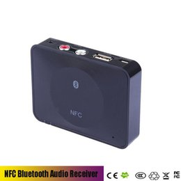 Wholesale Audio Amplifier Receiver - Audio Receiver HIFI audio amplifier transfer music multimedia adapter NFC Bluetooth v3.0 speakers