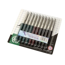 Wholesale Stainless Steel Fountain Pen Nib - 10pcs lot Hero 616 Silver Clip 0.38mm Iridium Nib Fountain Pen Steel Pens Free Shipping Mix Colors