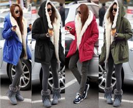 Wholesale Jacket Big Lapels - The new winter coat thick fur collar jacket slim dress big