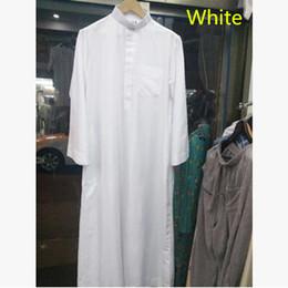 Wholesale Costume National Men - Islam clothing abaya Arab Tradition Men Prayers for Ramadan decoration muslimcloth praycoat National costume free shipping