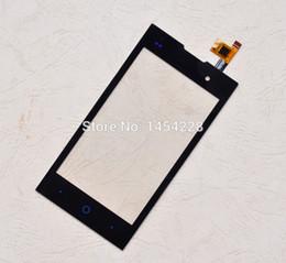 2019 teléfono celular zte blade Al por mayor-Negro Nueva pantalla táctil digitalizador Panel Sensor de lente de vidrio para ZTE Blade G Lux V815W KIS 2 V815 teléfono celular Envío gratis teléfono celular zte blade baratos