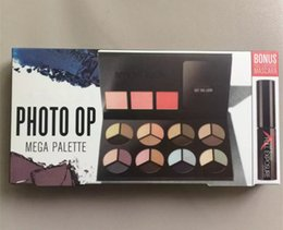 Wholesale Popular Eye Shadow - Factory Direct Popular Makeup Eyes Smash Photo Op Mega Palette 3 Colors Blush+24 Colors Eye Shadow