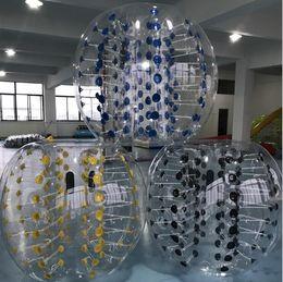 2019 agua inflable tizip Loca pelota de deportes 1.2 m humano inflable Bumper Balls niños jugando al fútbol pelota de pvc bolas de burbujas bola zorb inflable