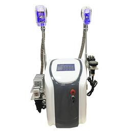 Wholesale Cavitation Rf Cooling - Professional cryolipolysis fat freezing slimming machine 2 cryo handles cool body sculpting cryolipolysis ultrasound cavitation rf lipolaser