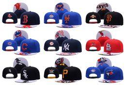 Wholesale Grey Brim Snapback - New York Mets All Team Baseball Caps Top Quality Blue Jays Sports Cap Adjustable Snapback Caps Fashion Hip Hop Hats Yankees Brim Cap